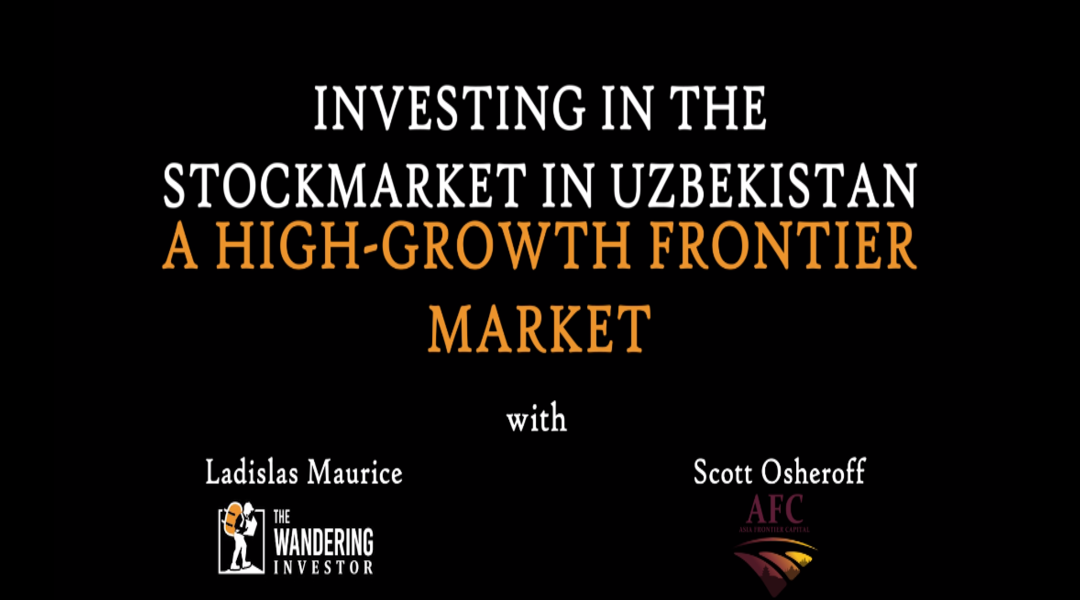 Investing in the stock market in Uzbekistan – a high-growth frontier market