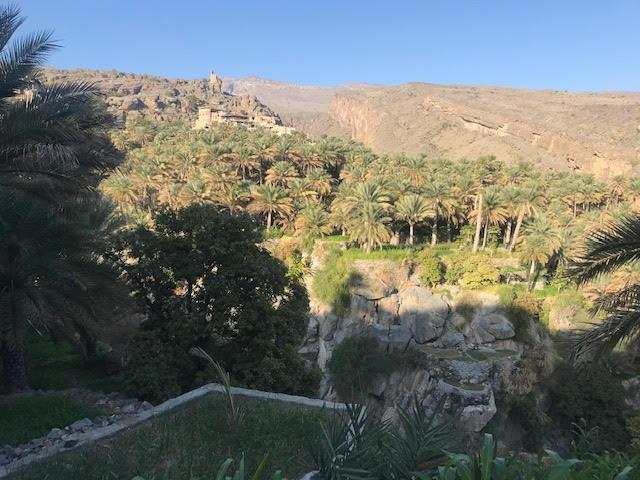 village in mountains oman