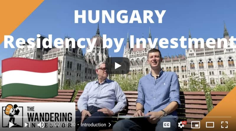 residency by investment hungary non eu people
